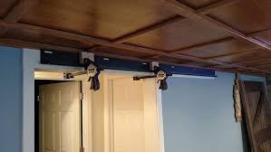 How To Make A Barn Door Track How To Build Sliding Barn Door Home Construction Improvement