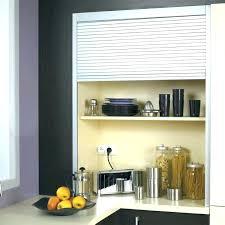 placard de cuisine haut meuble de cuisine haut court porte relevante en verre porte