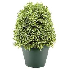 artificial foliage topiaries outdoor decor the home depot
