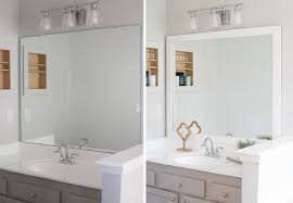 peahen pad framing an existing bathroom mirror framing bathroom mirror complete ideas exle
