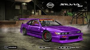 nissan silvia 2018 need for speed most wanted cars by nissan page 2 nfscars