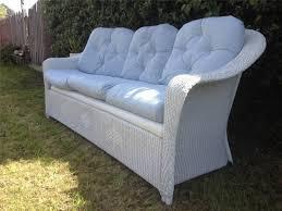 White Resin Wicker Loveseat Sofa Design Ideas Outdoor Patio White Wicker Sofa Furniture Sets