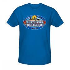 royal blue survivor changers logo t shirt royal blue cbs store