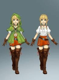 Digimon Halloween Costume Legend Zelda Cosplay Linkle Cosplay Costume Version 01