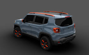 jeep renegade blue jeep renegade by mopar heading to detroit auto show