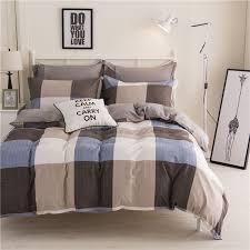 King Single Bed Linen - aliexpress com buy mecerock newest geometric pattern polyester
