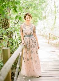 floral wedding dresses floral wedding dress anyone post pictures weddingbee