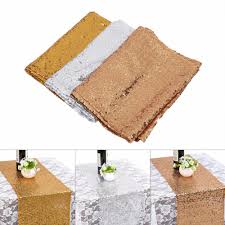 gold table runner and placemats gold silver rose gold table runner sequins mesh fabric table runner