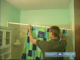 How To Install Shower Curtain Bathroom Remodeling U0026 Home Improvement Repairs How To Install