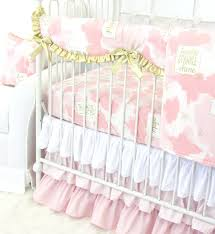 Pink Nursery Bedding Sets by Nursery Beddings Blush Pink Crib Plus Crib Bedding Sets For Girls