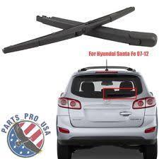 hyundai santa fe rear wiper arm windshield wiper systems for hyundai santa fe ebay