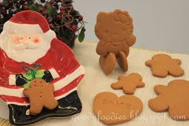 goodyfoodies recipe gingerbread man hello kitty biscuits