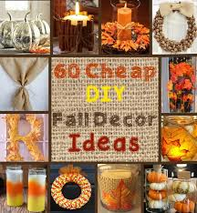 100 cheap and easy fall decor diy ideas autumn thanksgiving and
