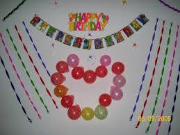 birthday decor at home free birthday decoration ideas at home