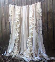 wedding backdrop curtains burlap curtains ribbon lace curtain rustic garland wedding