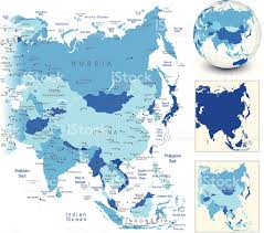 Asia Map Outline by Asia Map Clip Art Vector Images U0026 Illustrations Istock