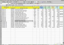 house estimate house construction estimate template and store inventory software