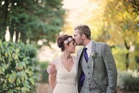 an art deco bride u0027s autumn wedding at ellingham hall