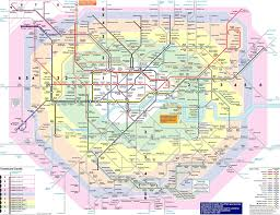 Montreal Underground City Map Travel Zones Map London London Map New Tube Map Brings Zone 10