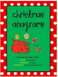christmastime anagrams tpt promo code dictionary skills and