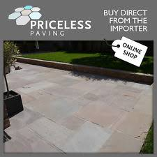 Done Deal Patio Slabs Material Sandstone Ebay