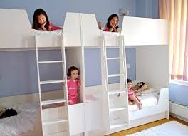 Custom Bunk Beds A Custom Bunk Solution For Four Sisters Apartment Therapy