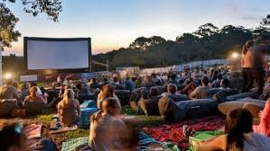 Sunset Cinema Botanic Gardens Taking In A In The Great Outdoors Is Gaining A