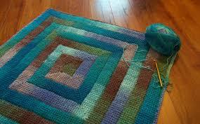 Tunisian Rug Tunisian Triangles Pdf Tunisian Crochet Pattern From Poppyandbliss