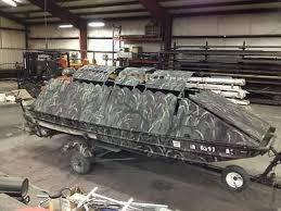 Ez Duck Blind Jon Boat Duck Boat Blind Boats For Sale