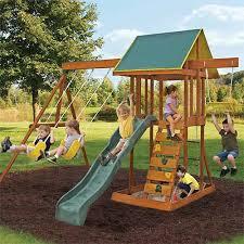 Big Backyard Swing Set The Best Backyard Playground Equipment Of 2017 Gardener U0027s Path