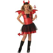 girls halloween costumes for kids amazon com devil darling costume medium toys u0026 games