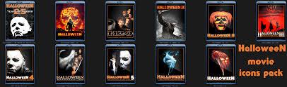 halloween franchise halloween movie folder icons by rikvidr on deviantart