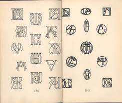 Create Monogram Initials 15 Best Monograms Images On Pinterest Vintage Monogram Monogram