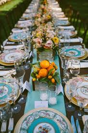 mismatched plates wedding 2017 wedding design inspo unique place settings g events