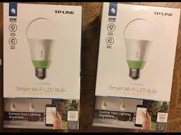 smart light bulbs amazon tp link smart wi fi led light bulb lb110 works with amazon alexa