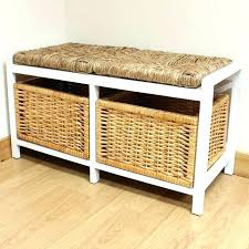 Bathroom Stool Storage Decorative Bench With Storage Small Benches Seat Shower Bamboo