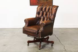 tufted leather desk chair vintage leather tufted desk chair vintage supply store