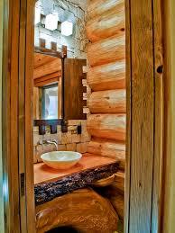 cabin bathroom designs small log cabin bathrooms houzz