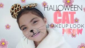 Halloween Animal Makeup Halloween Animal Makeup Look Andrea U0027s Wonderland Youtube