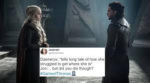 But Did You Die Meme - jon snow and daenerys targaryen finally met twitterati can t get