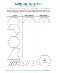 worksheets block printables patterns patterns kid