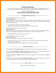 Sample Resume For Truck Driver by 4 Sample Truck Driver Resume Sales Resumed