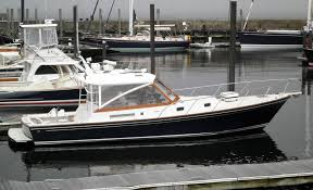 1998 little harbor whisperjet 38 power boat for sale www