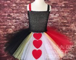 Tween Queen Hearts Halloween Costume Queen Hearts Costume Etsy