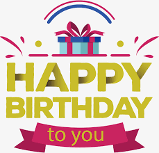 gift box birthday card vector png a birthday present gift box