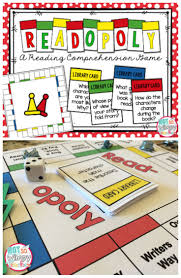 Reading Comprehension 3rd Grade Worksheets Free Read Opoly A Reading Comprehension Game Literacy Students And