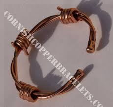 wire bracelet images Magnetic copper bracelets magnetic solid copper barbed wire jpg