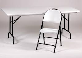 Plastic Tables And Chairs Chic White Folding Table And Chairs Plastic Folding Table And