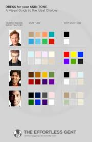 colour color choose the best clothing colors for your skin tone effortless gent