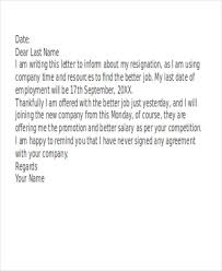 sample funny resignation letter 6 examples in pdf word